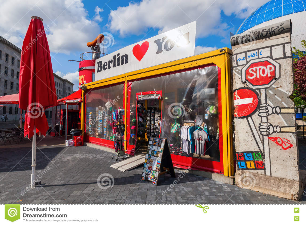 Shop Berlin souvenir shop in berlin germany editorial stock image image 72127284