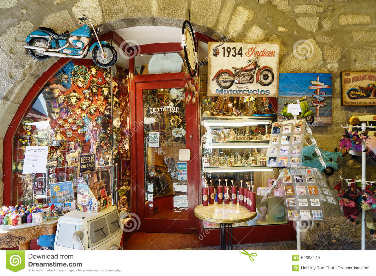 Souvenir shop editorial stock image image of cups - Boutique free annecy ...
