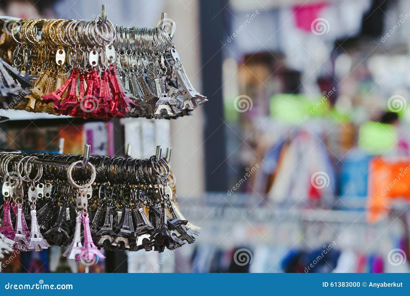 souvenir shop in paris stock photo image 61383000. Black Bedroom Furniture Sets. Home Design Ideas