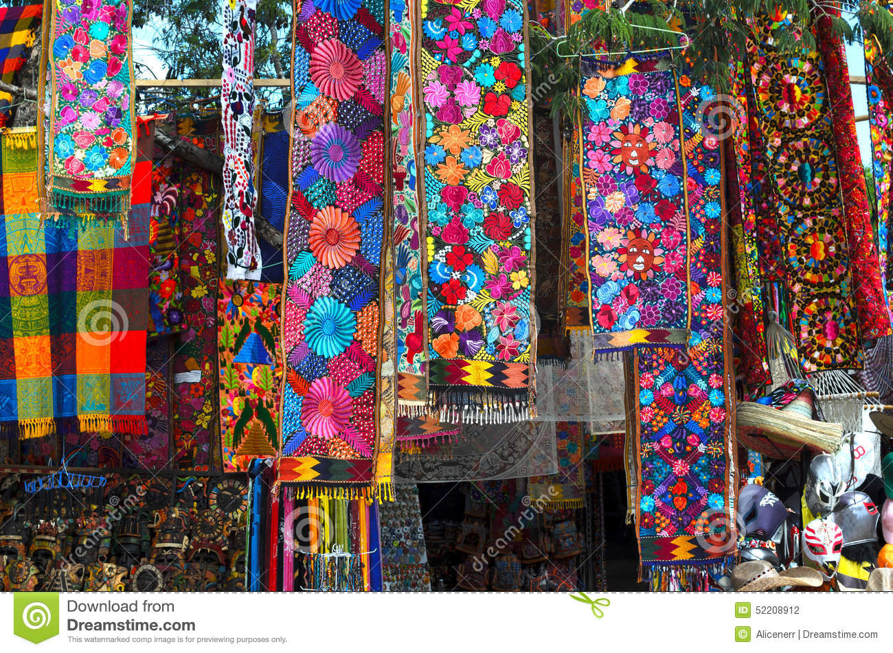 Souvenir store with traditional mexican handmade craft for Mexican arts and crafts for sale