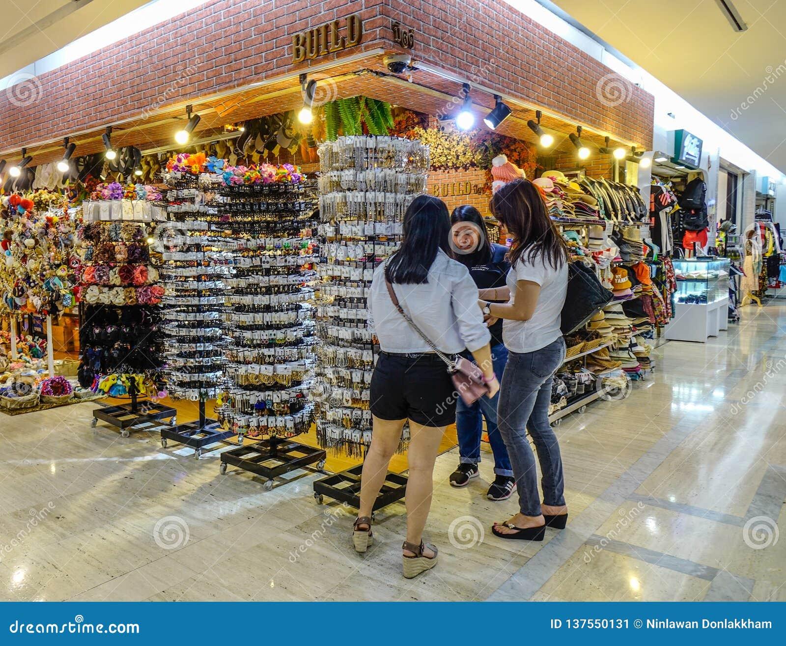 Souvenirladen an MBK-Mall in Bangkok