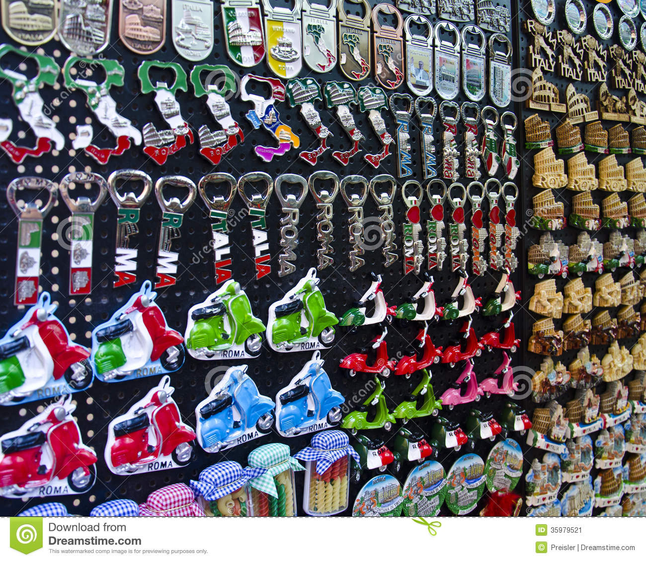 Souvenirs From Rome Stock Image - Image: 35979521