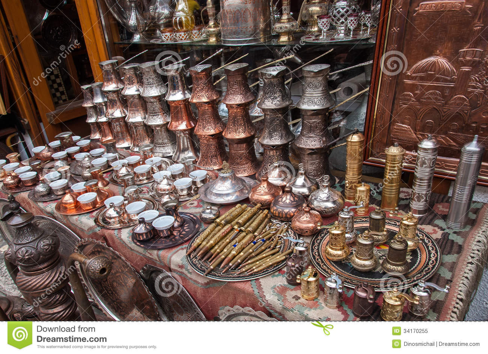 Souvenirs From Sarajevo Bosnia And Herzegovina Royalty
