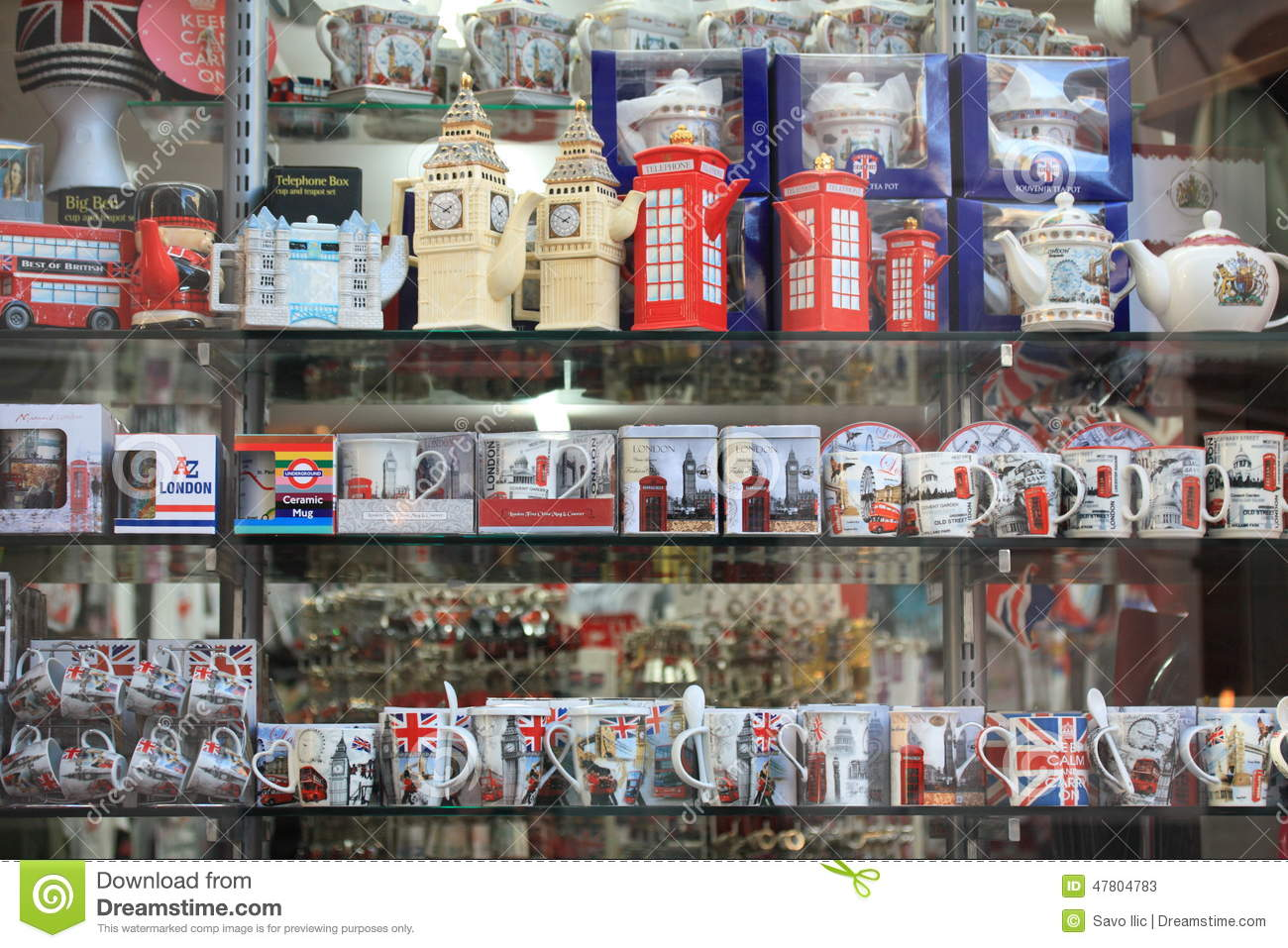 Souvenirs editorial stock photo. Image of sale, heritage ...