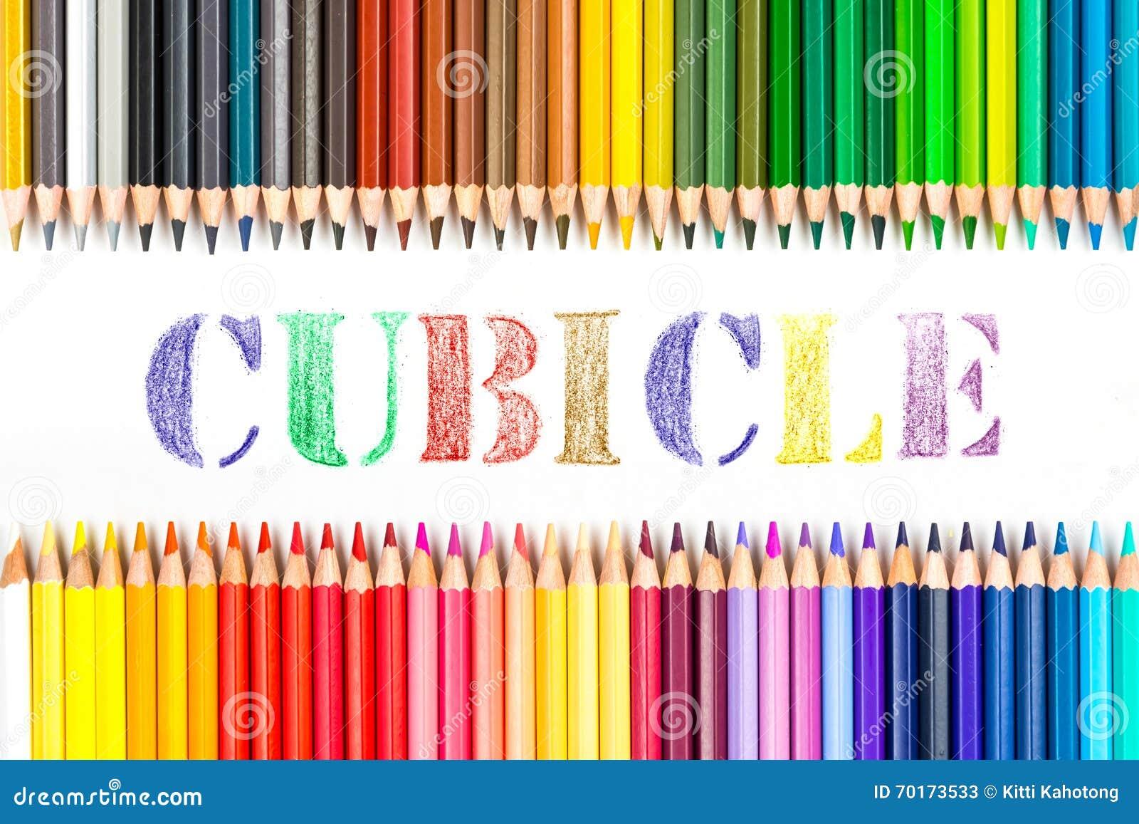 Sovalkovteckning vid färgblyertspennor