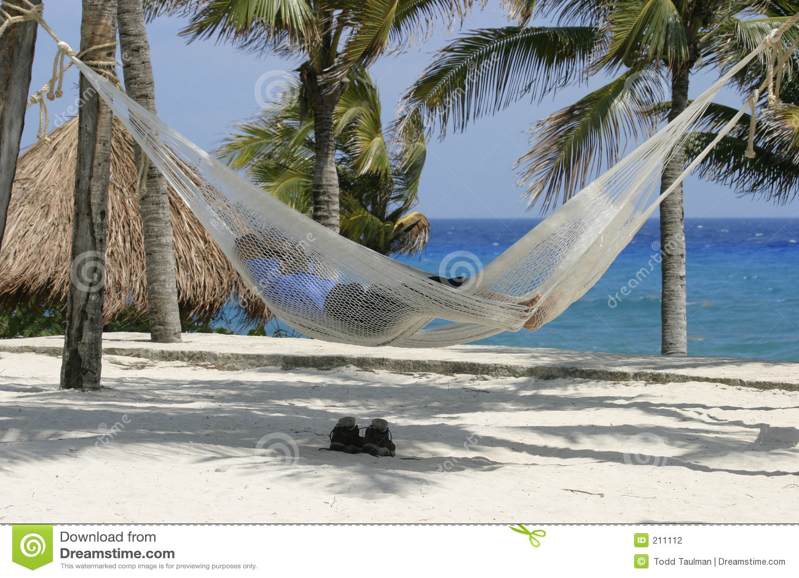 Sovande strand