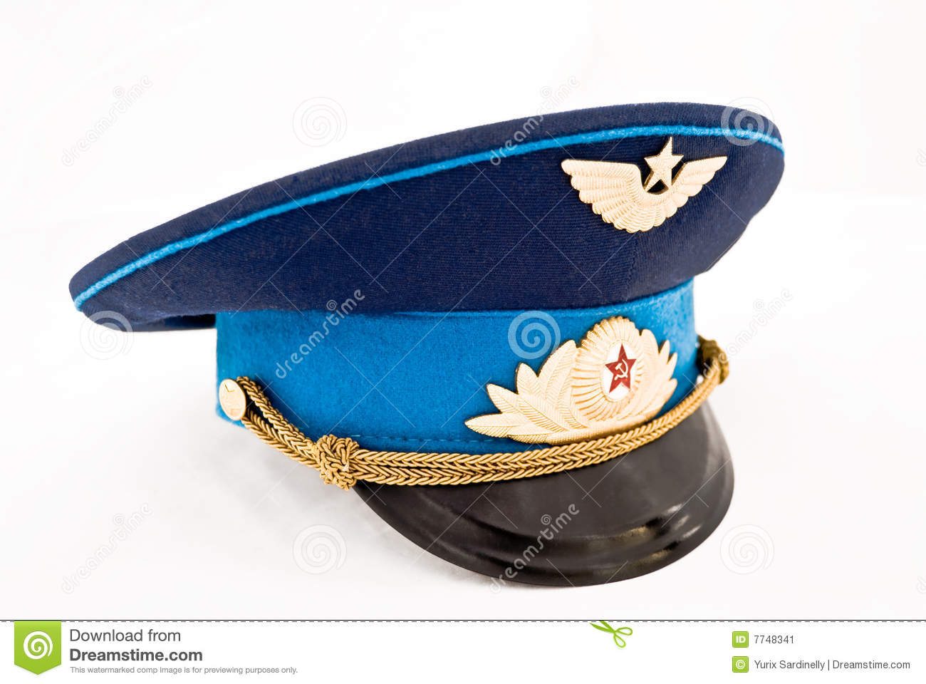 f679bb847 Soviet Air Force Officer Cap Stock Image - Image of battle, badge ...