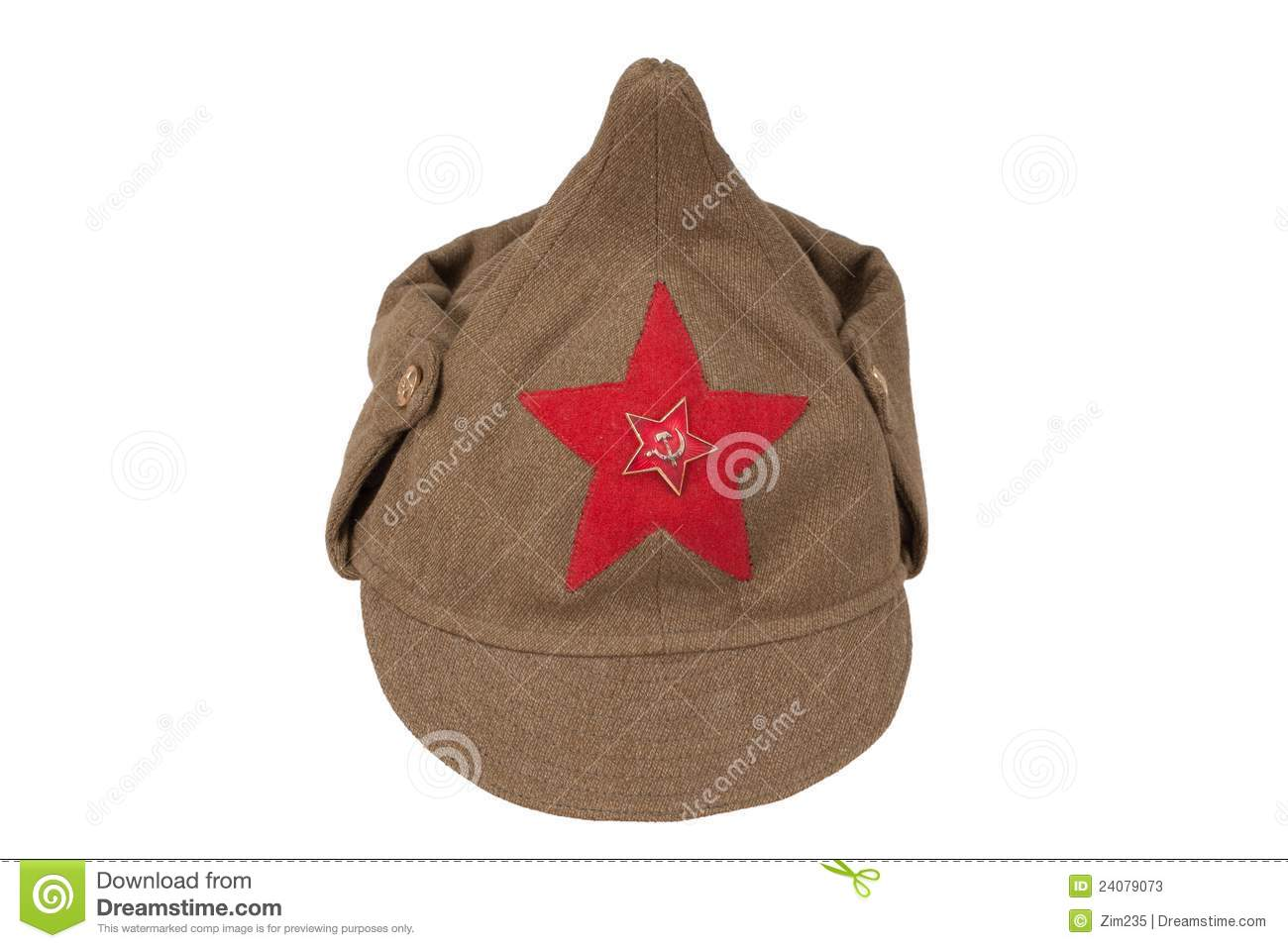 7f84acabe59 Soviet army cap stock image. Image of communist
