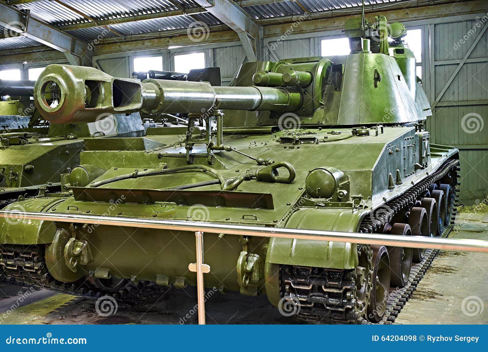 Soviet 152 de SO-152 2S3 Akatsiya 4 milímetros de artillería automotora