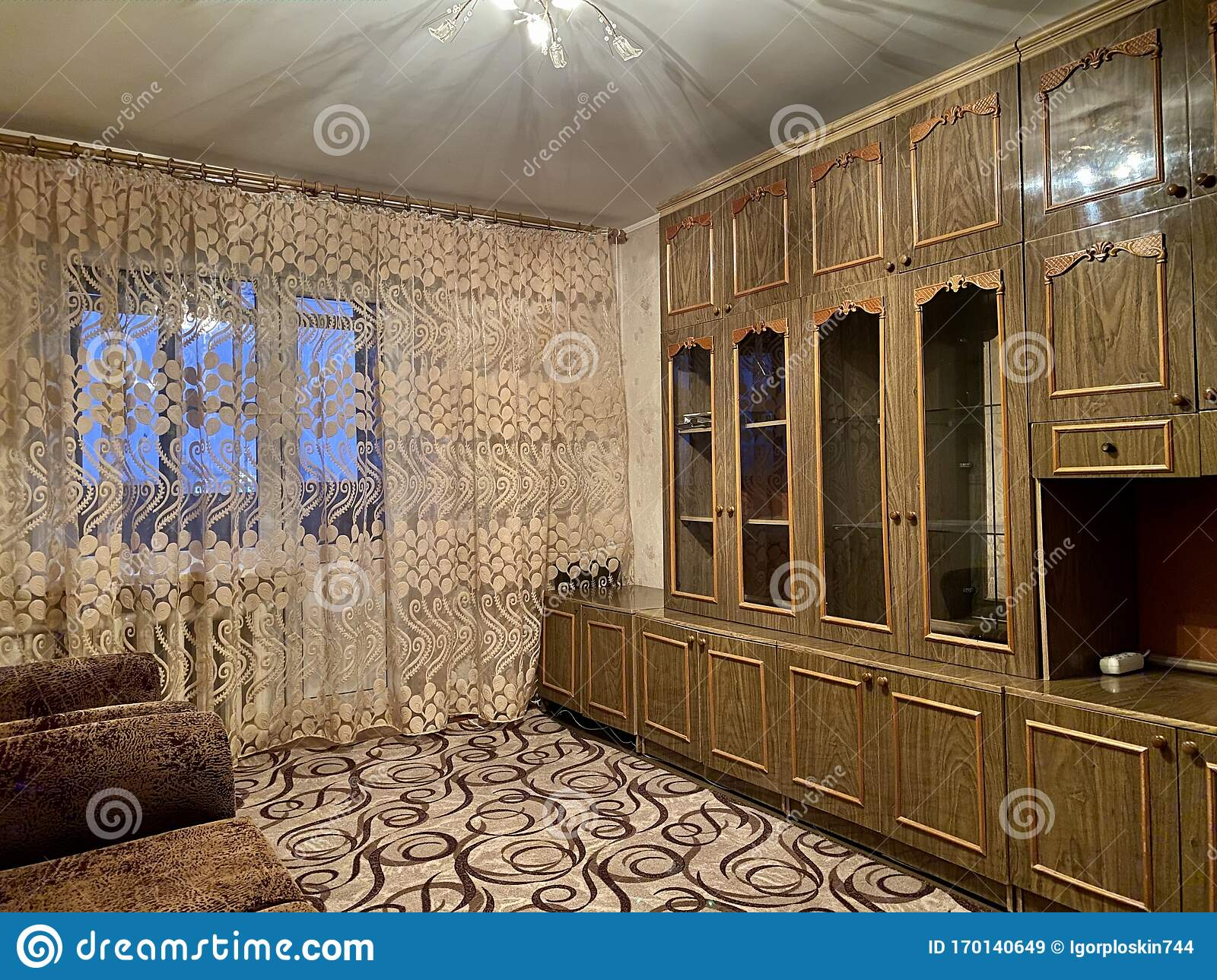 Soviet Room With Carpenter And Wardrobe Stock Image Image Of Lifestyle Decoration 170140649