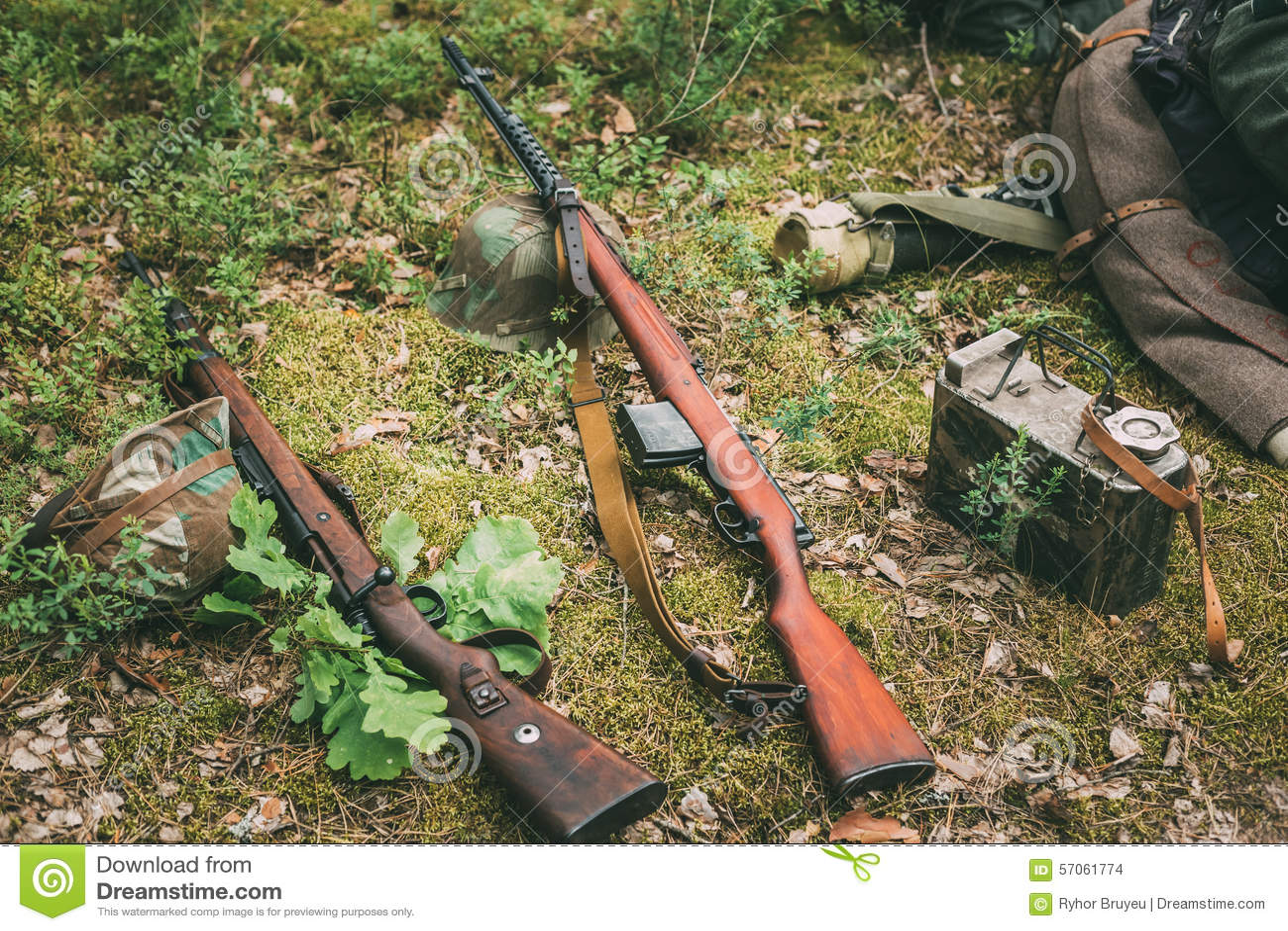 Sovjet en Duitse geweren van Wereldoorlog II - SVT 40