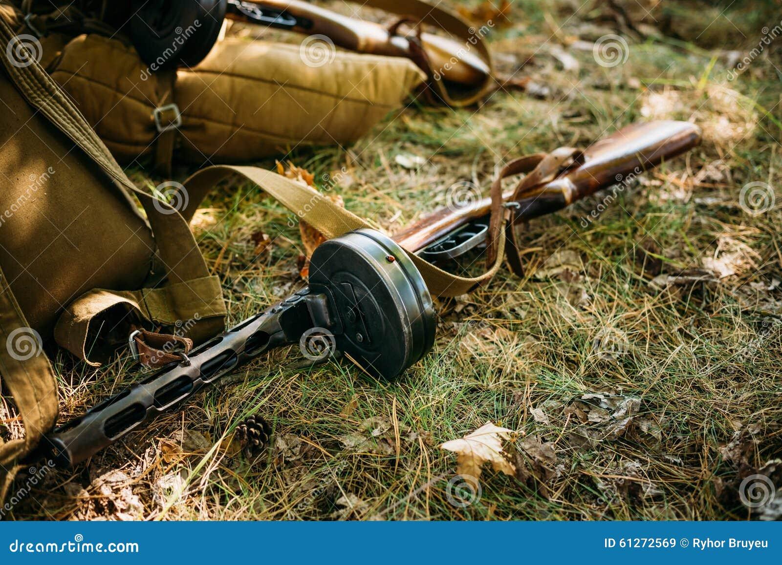 Sovjet Russische militaire munitie - submachine