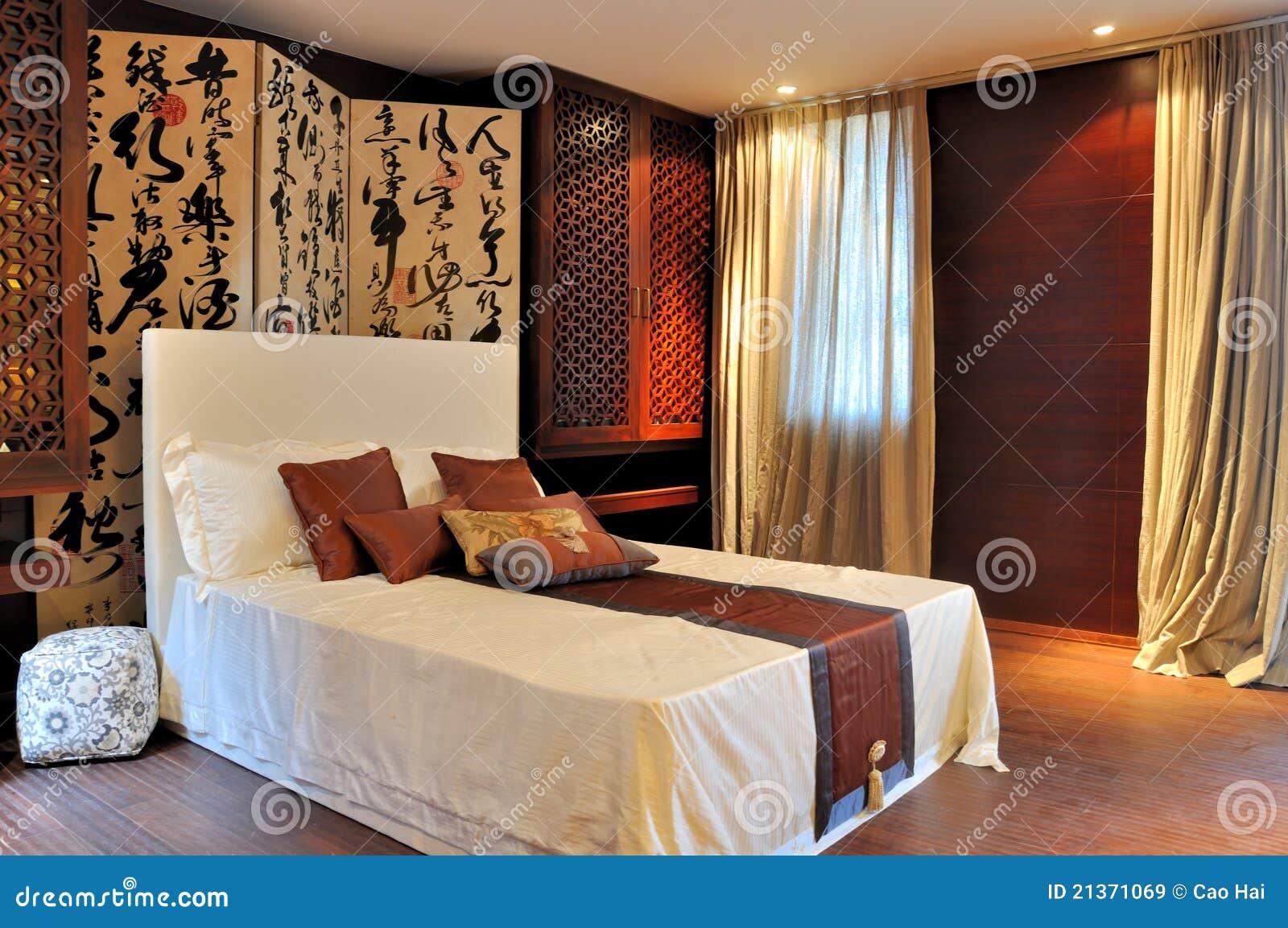 Sovrum dekorerad lyxig orientalisk stil