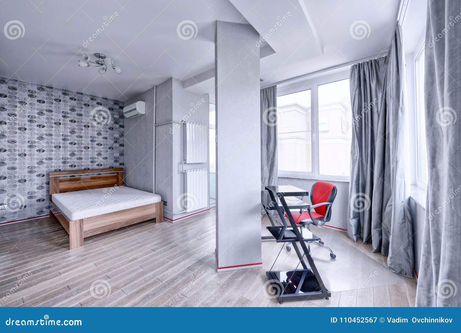 Sovrum för inredesign