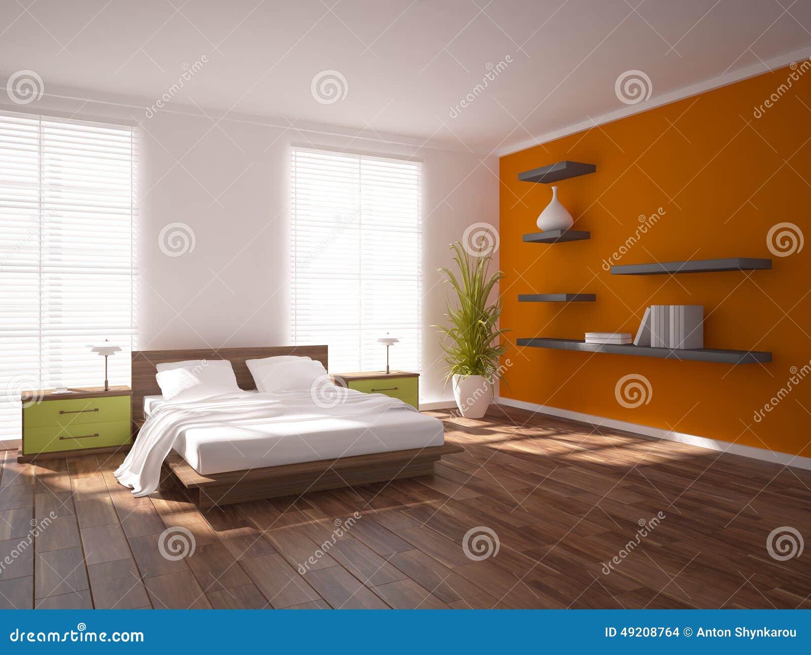 Sovrum färgad design arkivbild   bild: 25500112