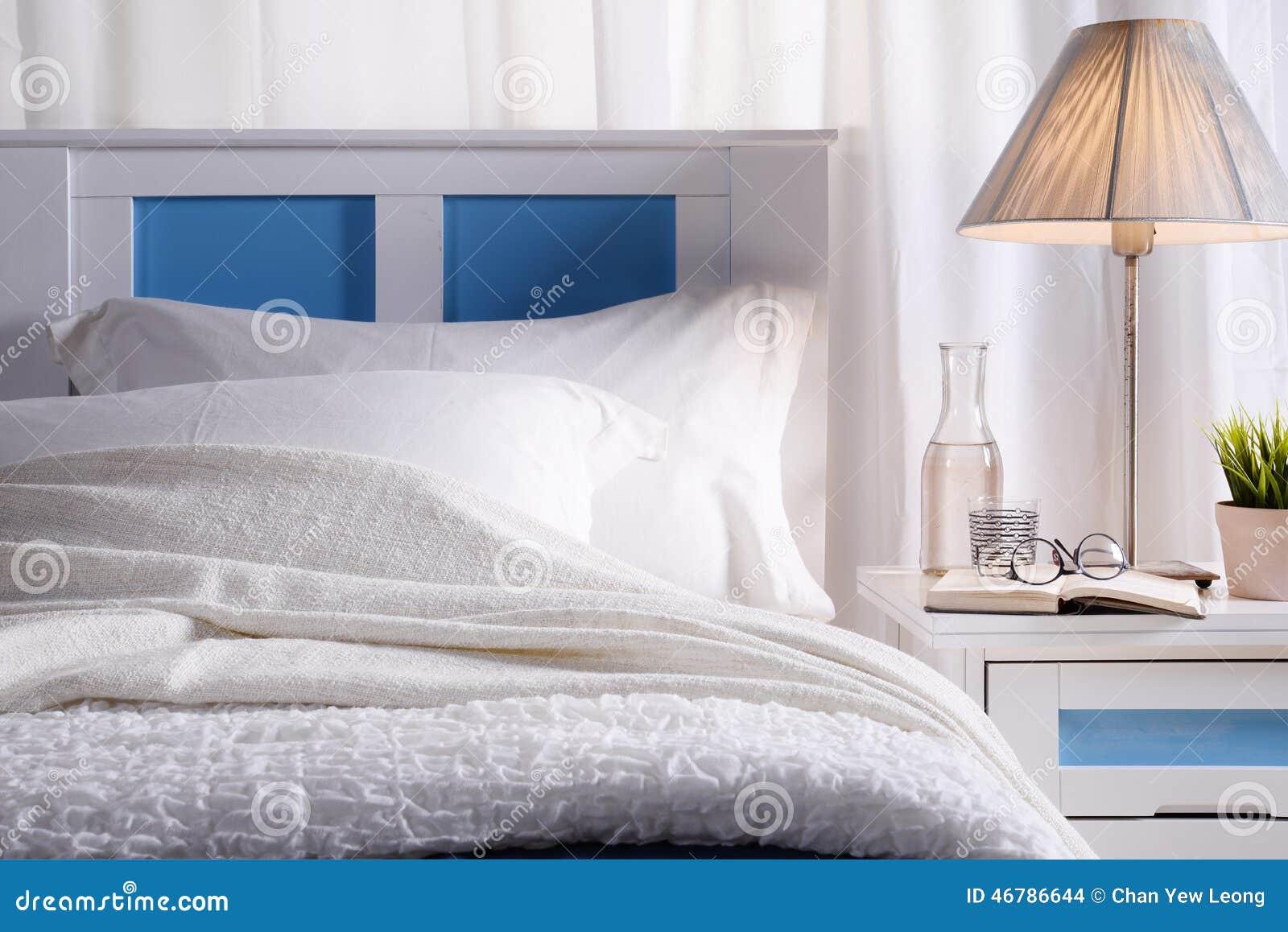 Sovrum med solljus