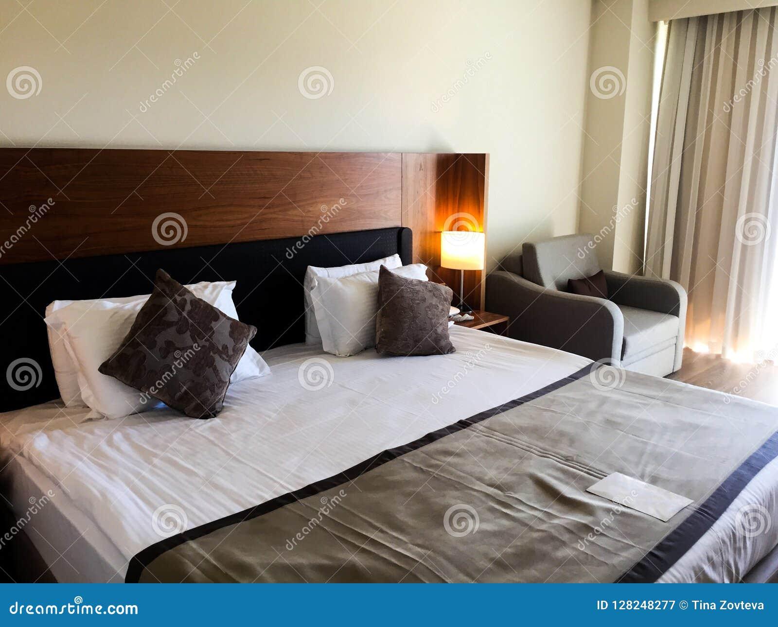 Sovrum på hotellet