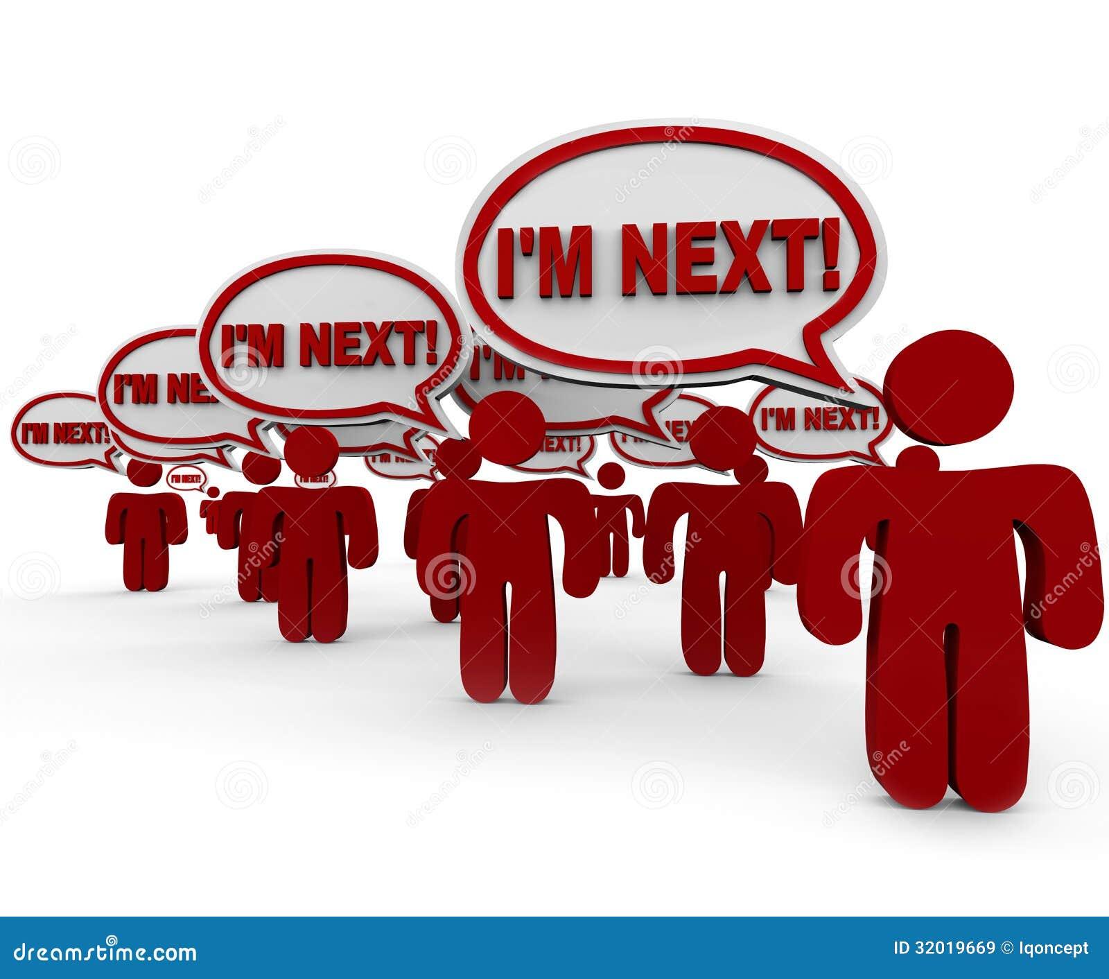Soy clientes siguientes de la gente que esperan en la línea ayuda de servicio