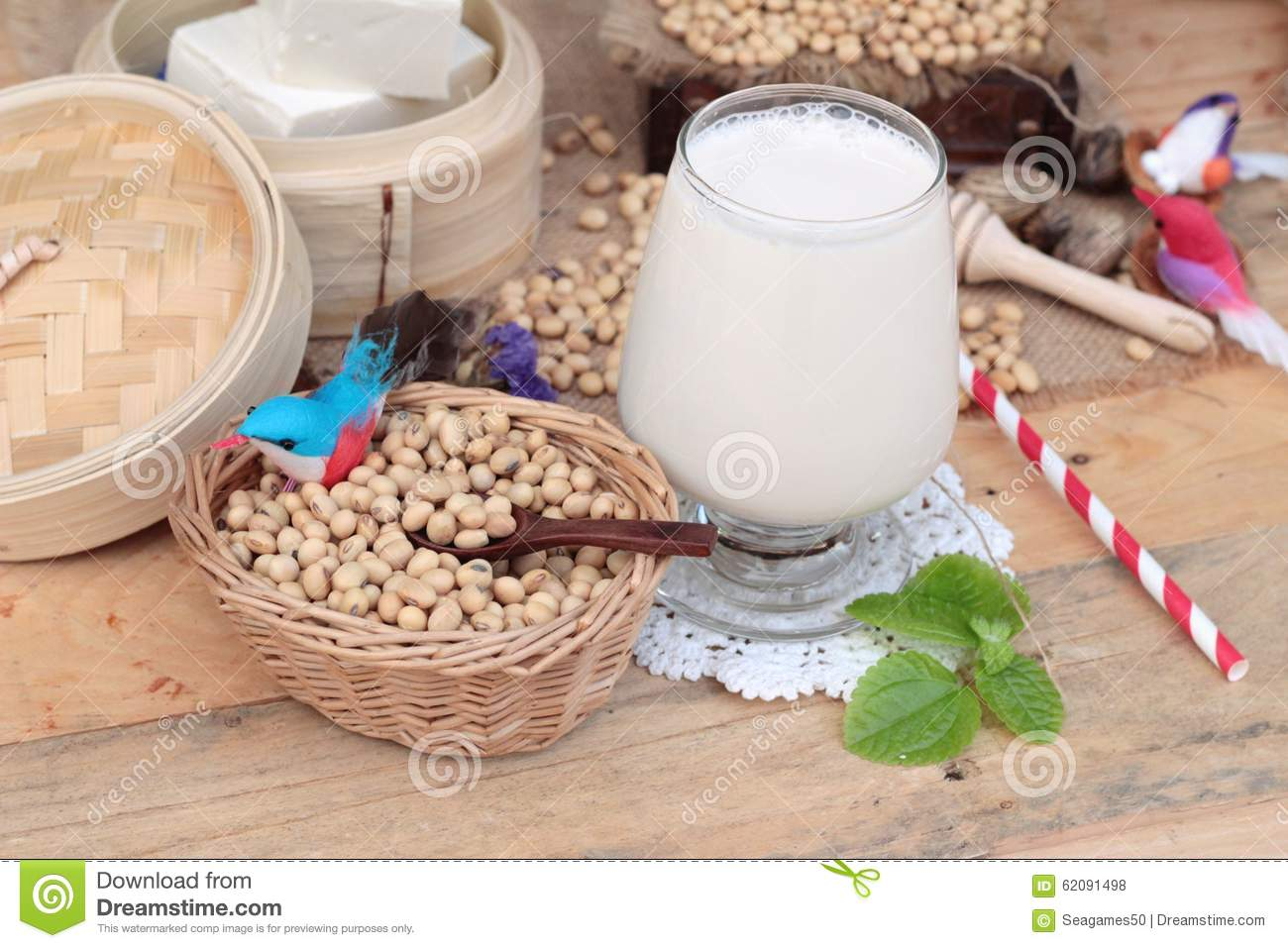 how to make soy milk from soybeans