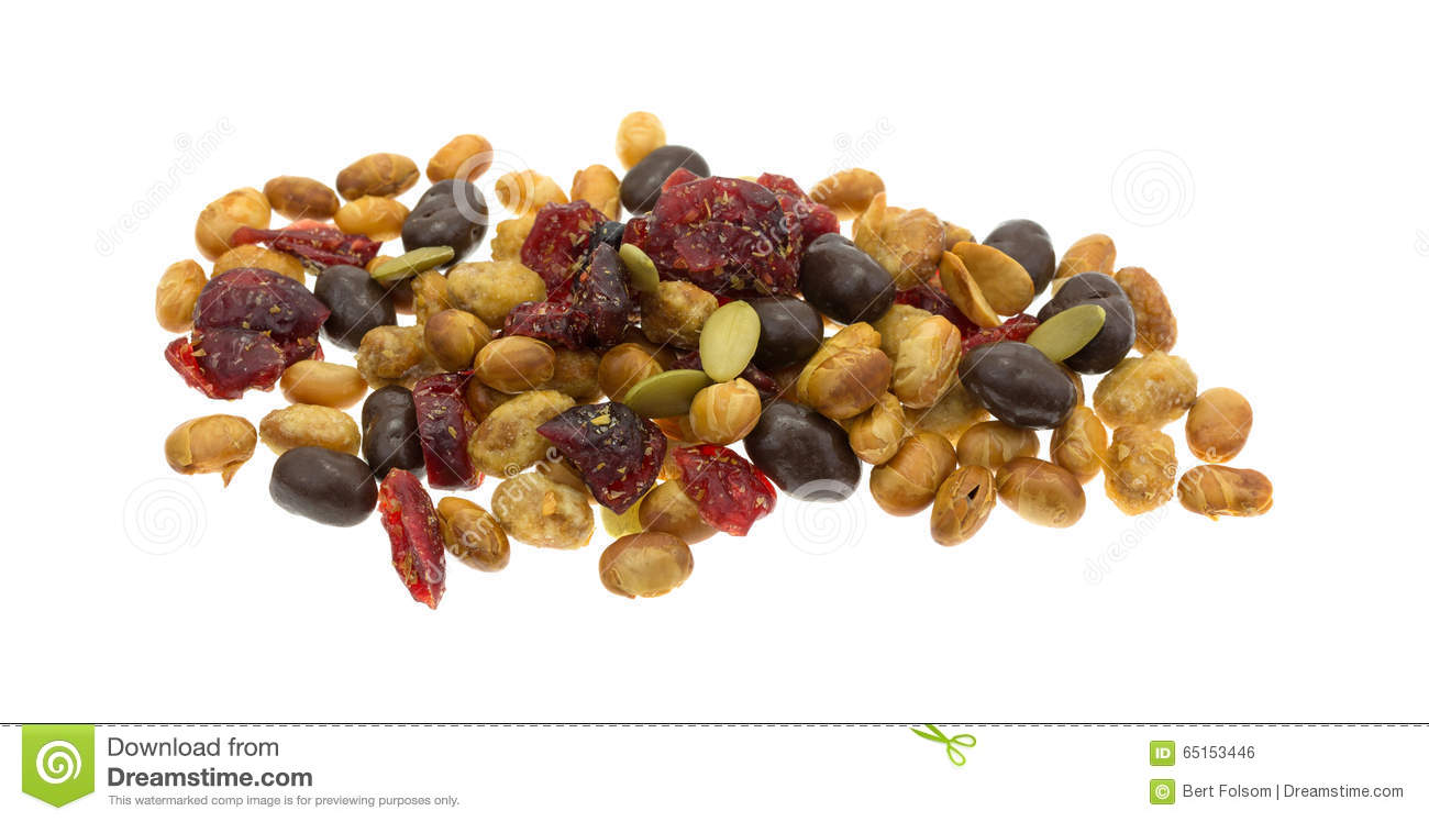 Cranberry-Pumpkin Seed Trail Mix Recipe — Dishmaps