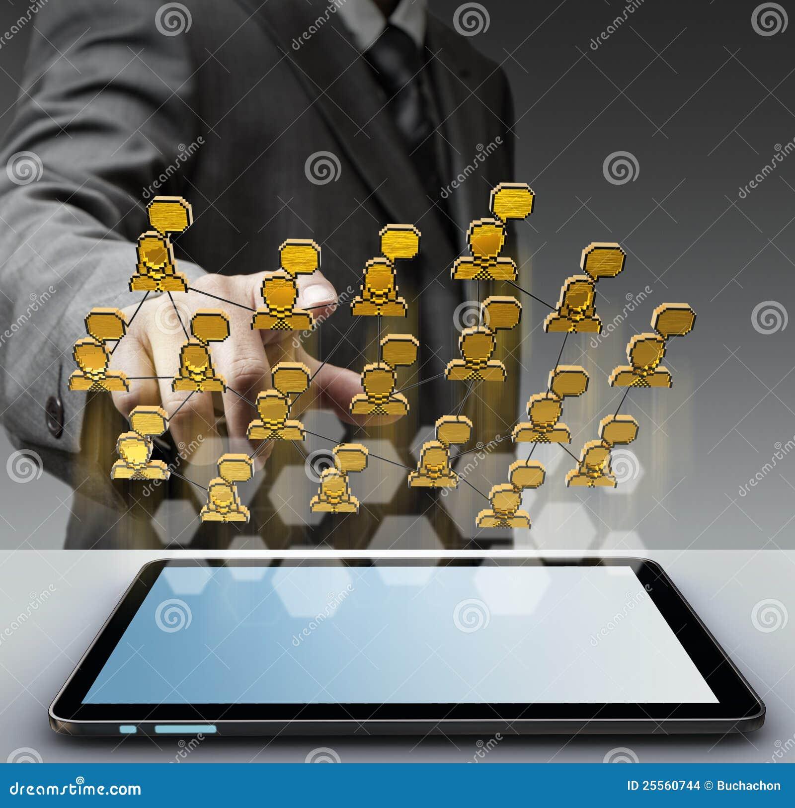Sozialnetzikone des Pixels 3d