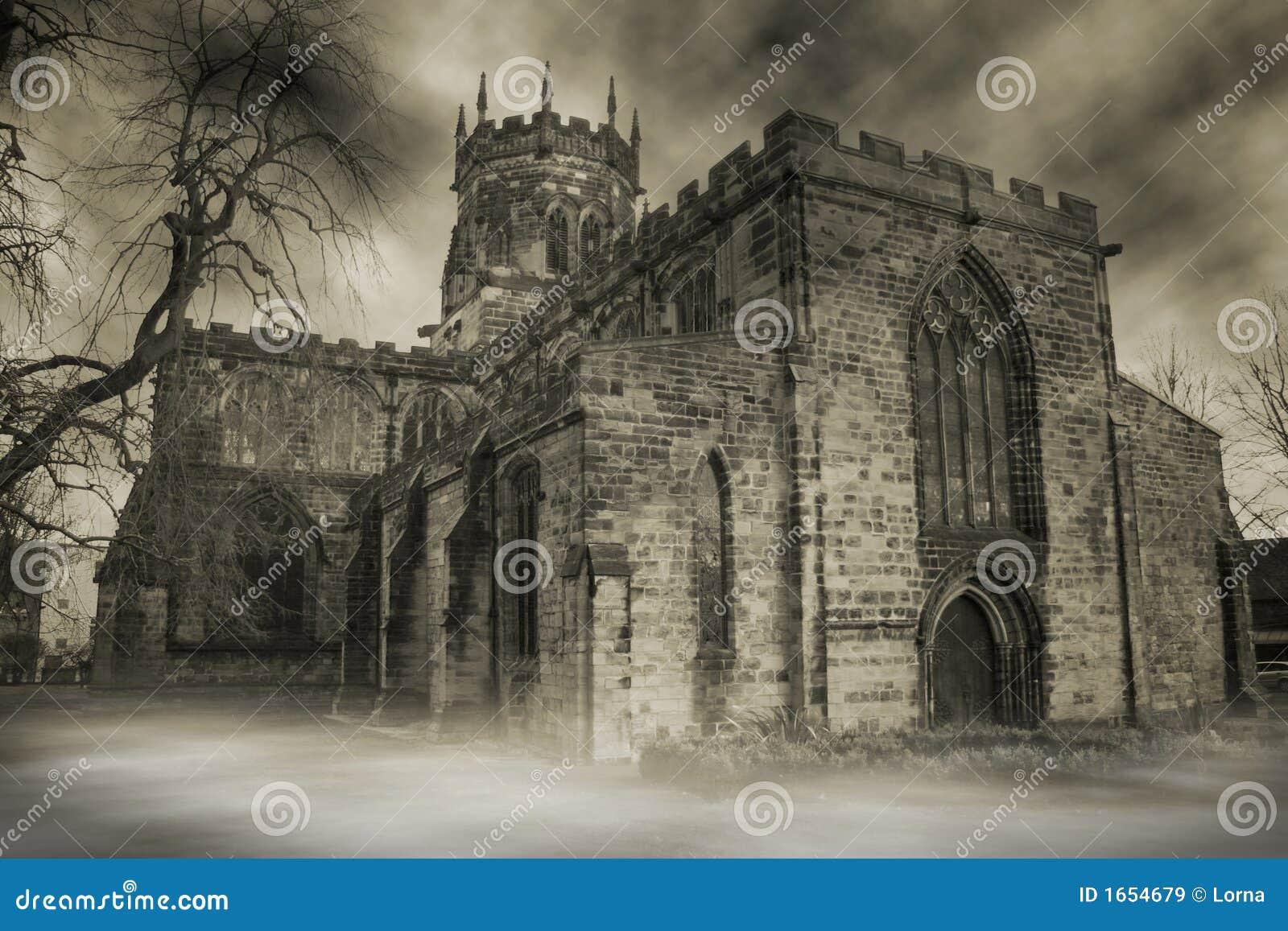Spökad kyrka
