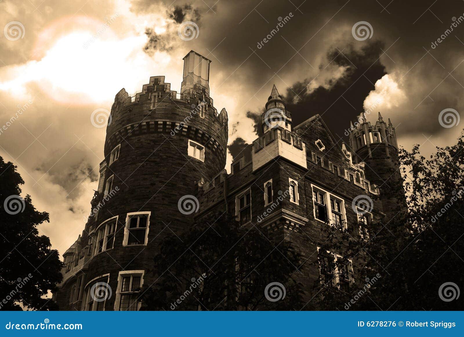 Spökat slott