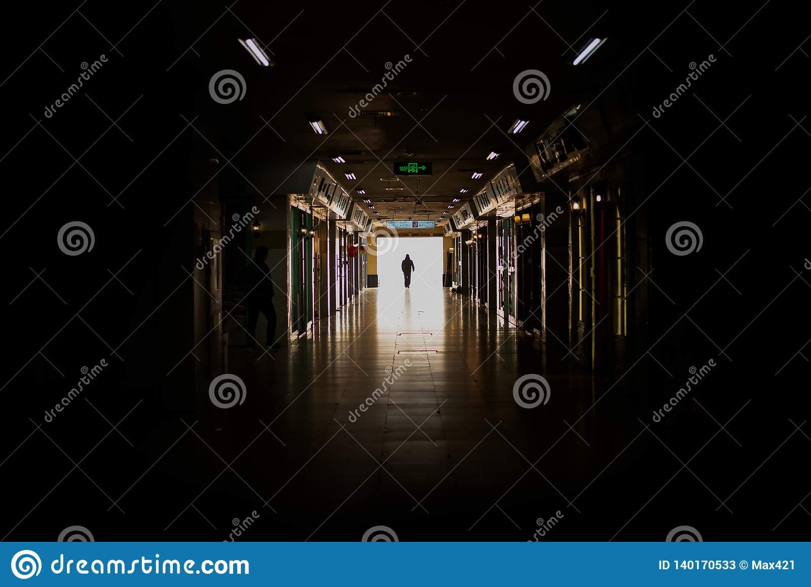 Spöklik passage