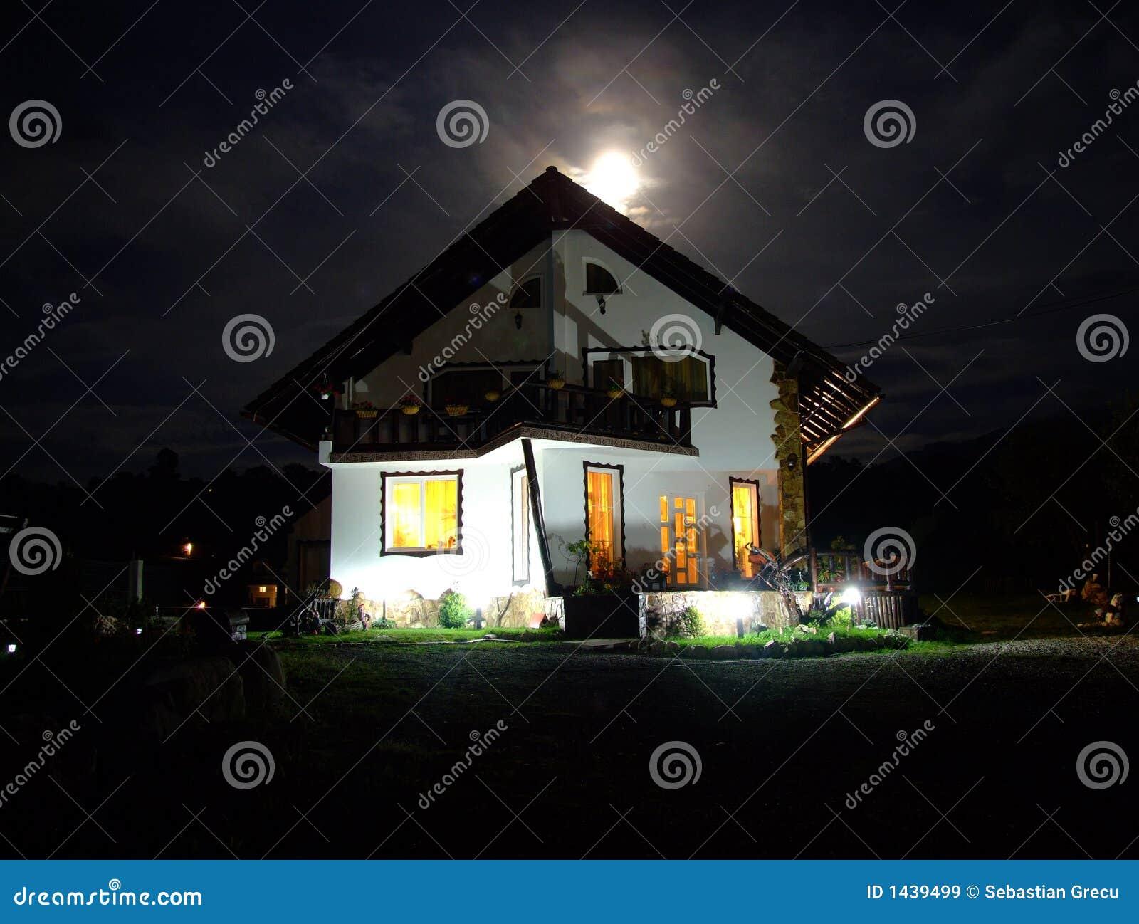 Spöklikt hus