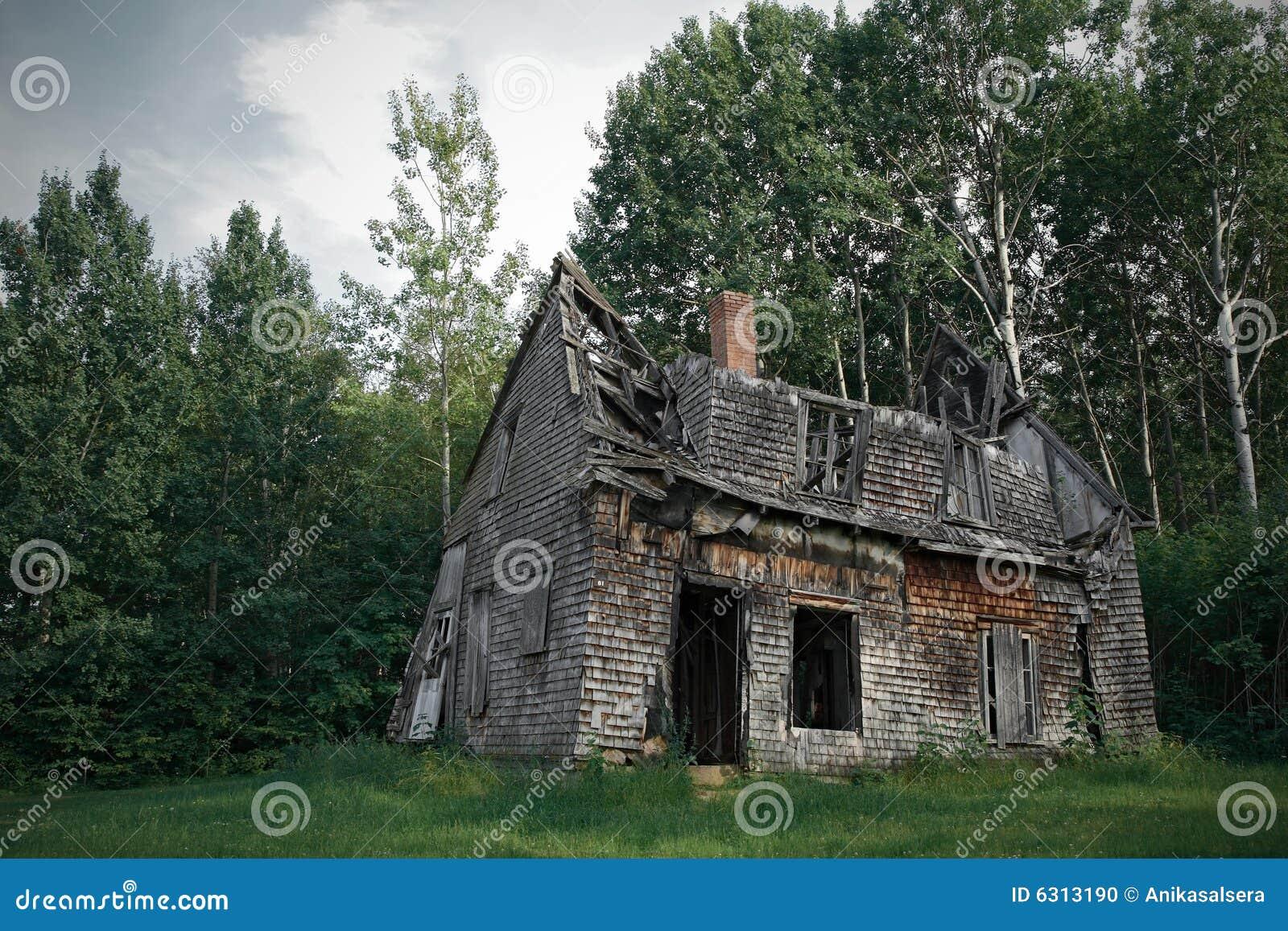 Spöklikt spökat hus