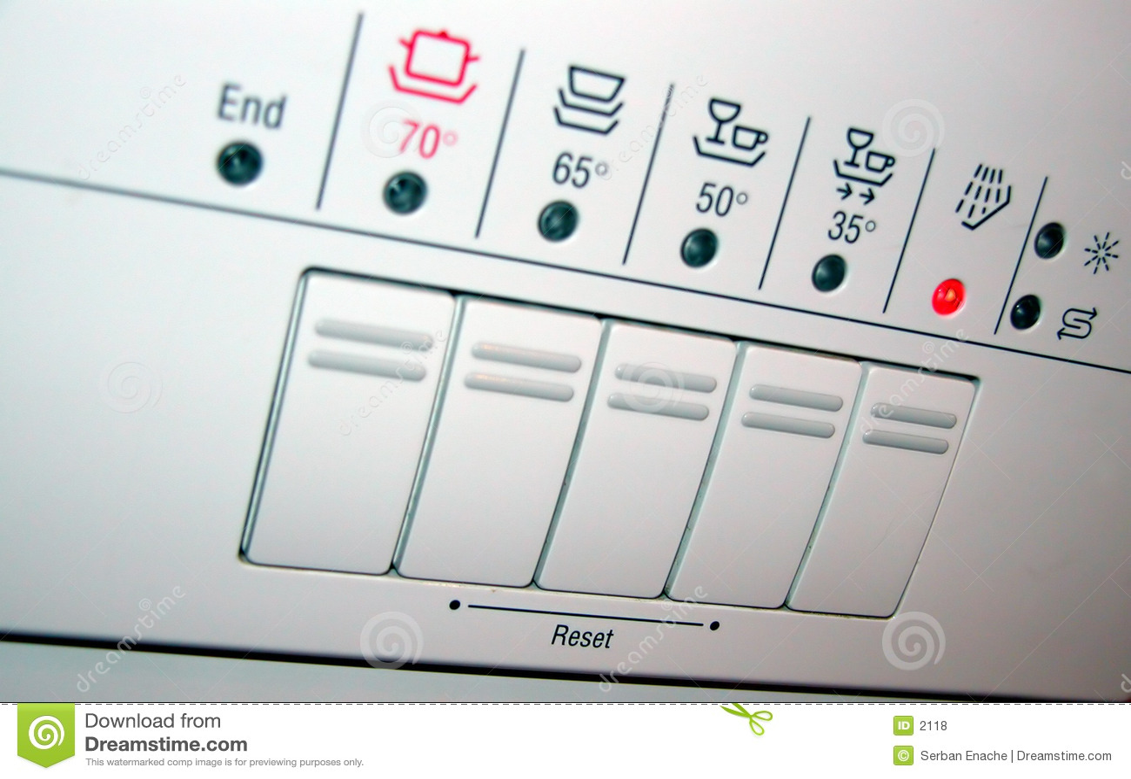 Spülmaschinepanel