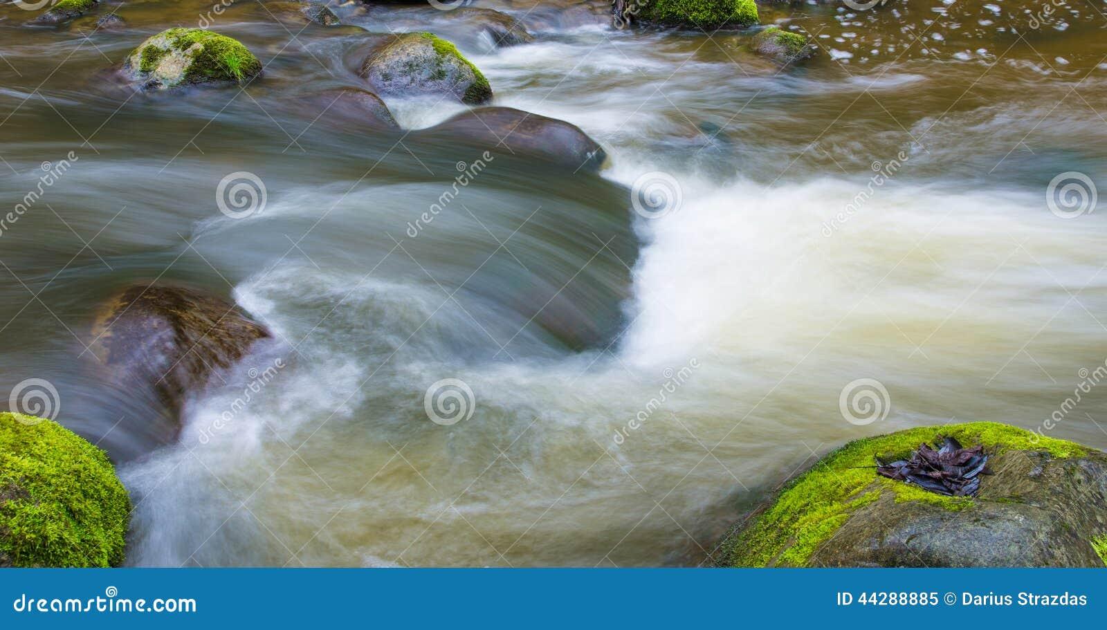 Spływowa natury Thailand woda