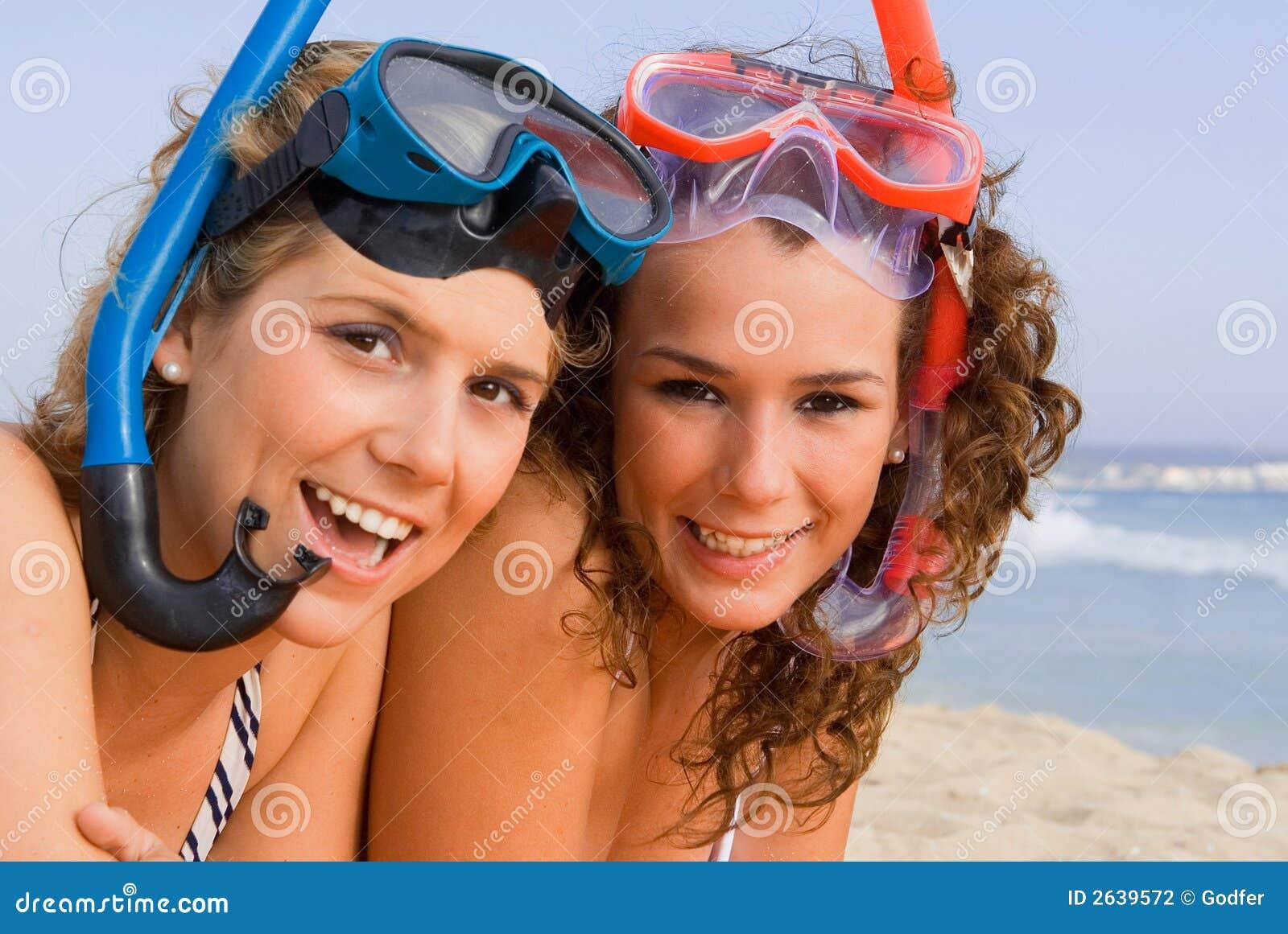 Spaß auf Sommerstrandferien