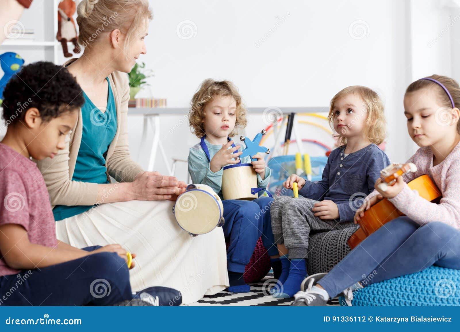 Spaß im Kindergarten