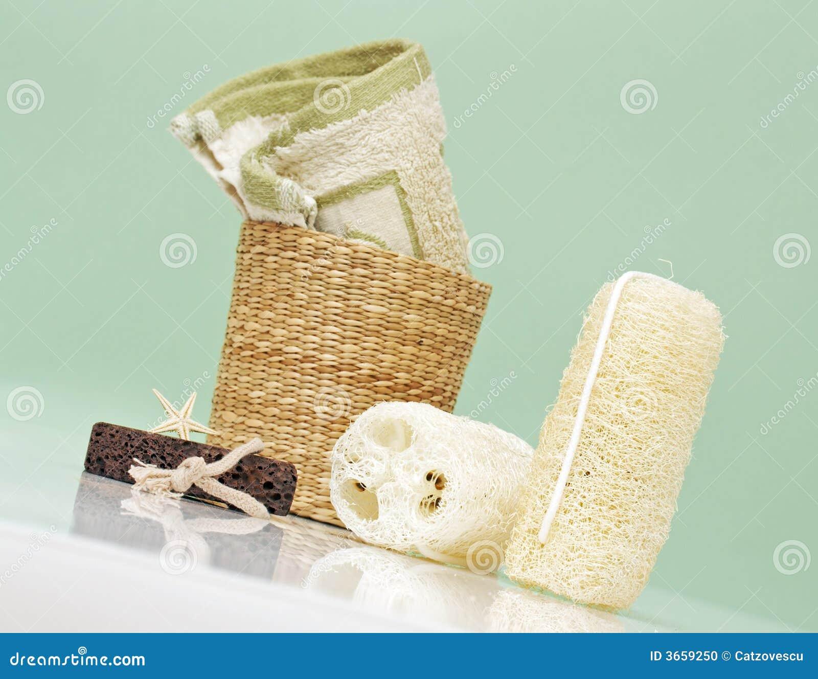Spa accessories, bath items
