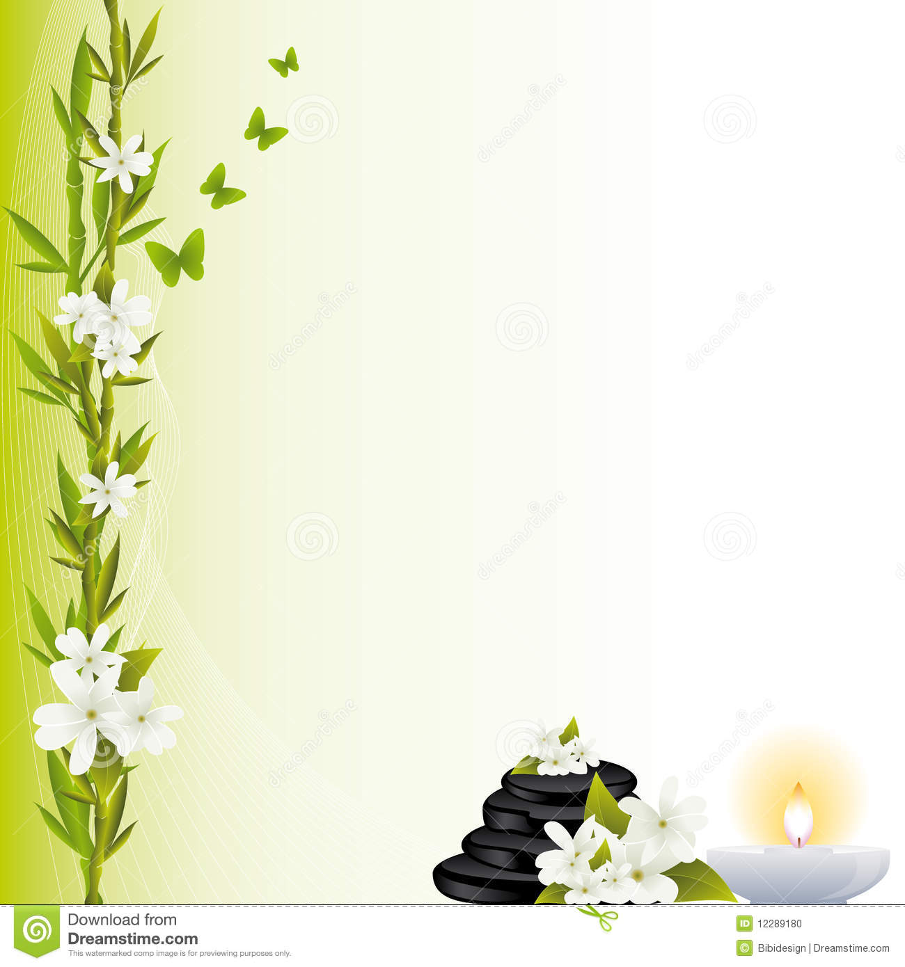 Spa Background Stock Photo Image 12289180