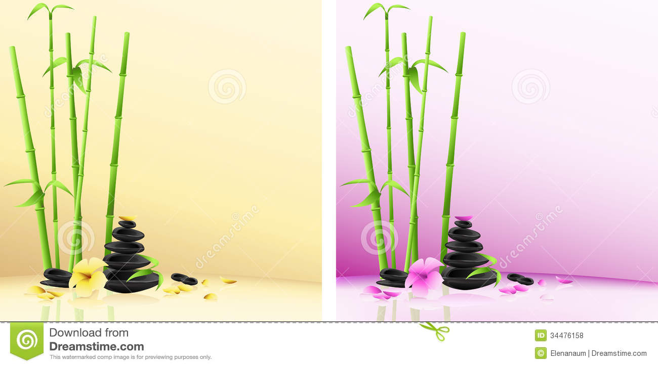Royalty Free Stock Photos Spa Background Stones Flower Bamboo Vector Stone Pyramid Theme Salon Image34476158 on bamboo orchid