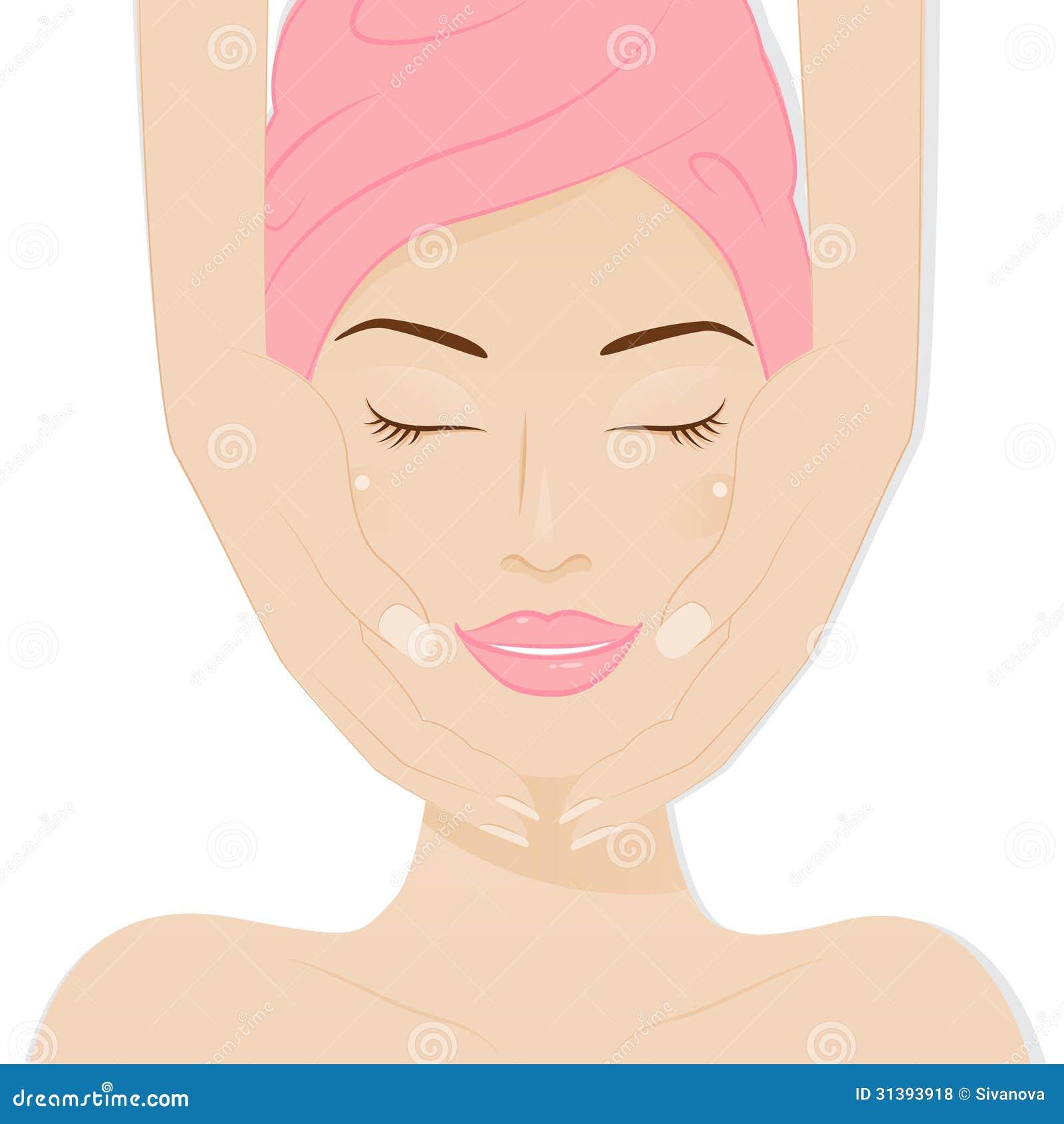 Spa Skin Care: Spa. Royalty Free Stock Photos