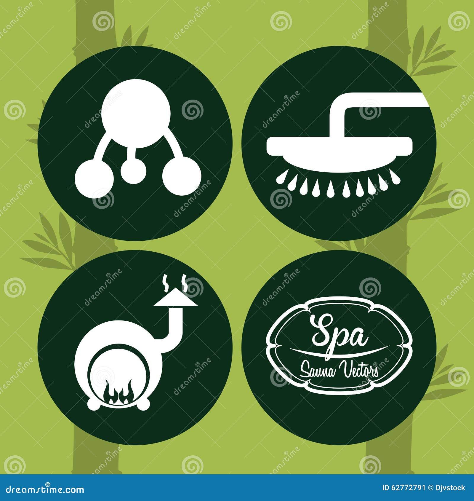 Spa center design stock vector image 62772791 for Salon multimedia