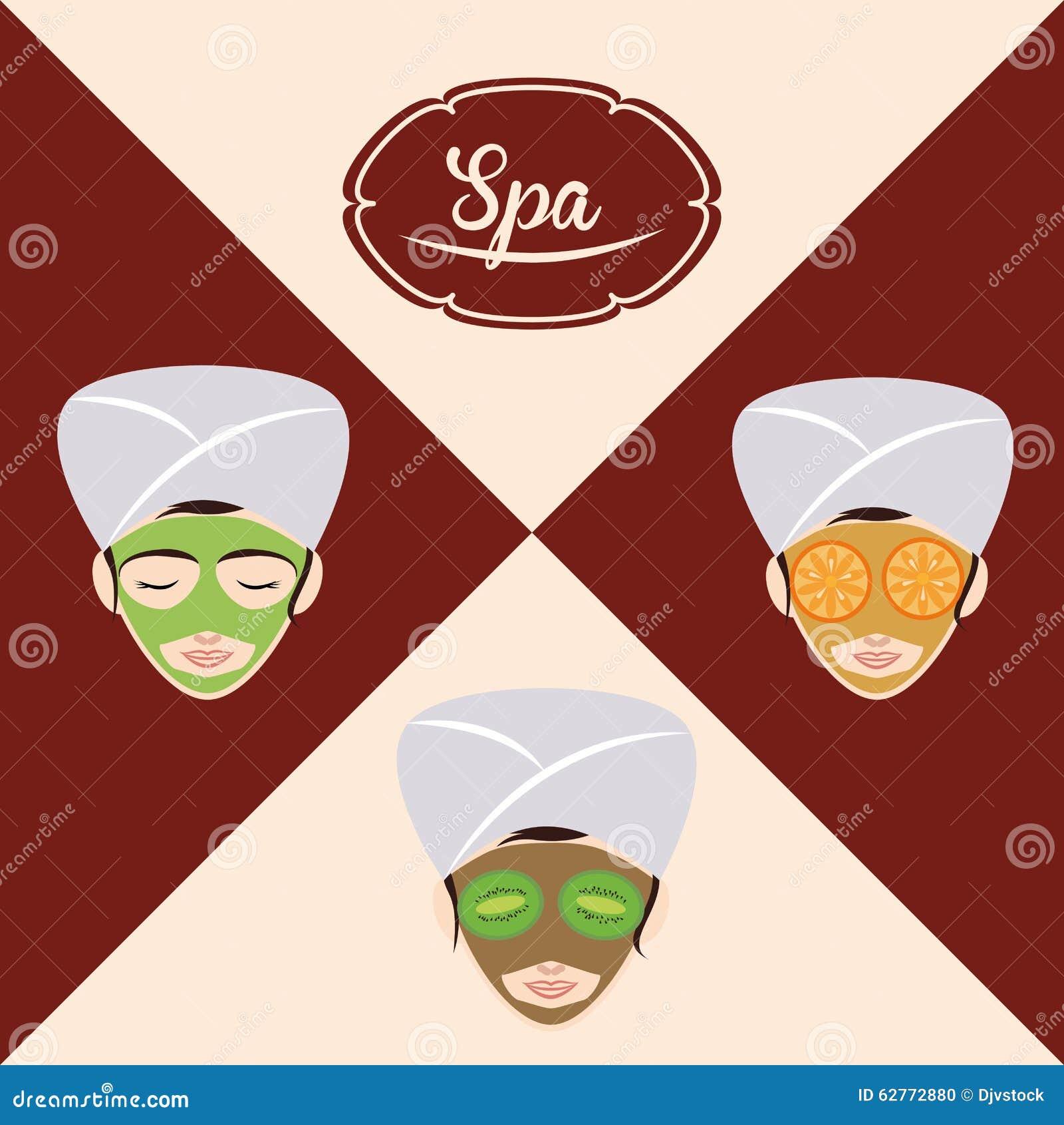 Spa center design stock vector image 62772880 for Salon multimedia