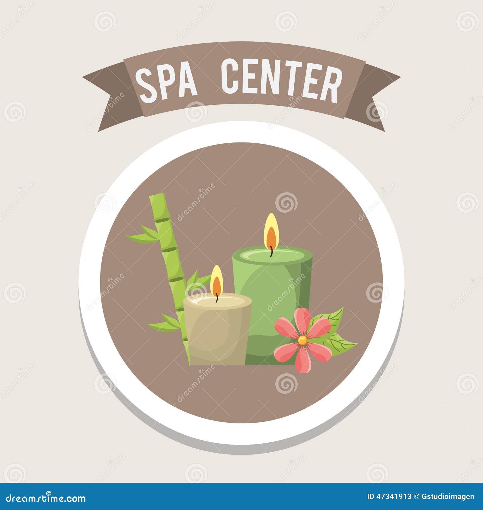 Spa Center Design Stock Vector Image 47341913