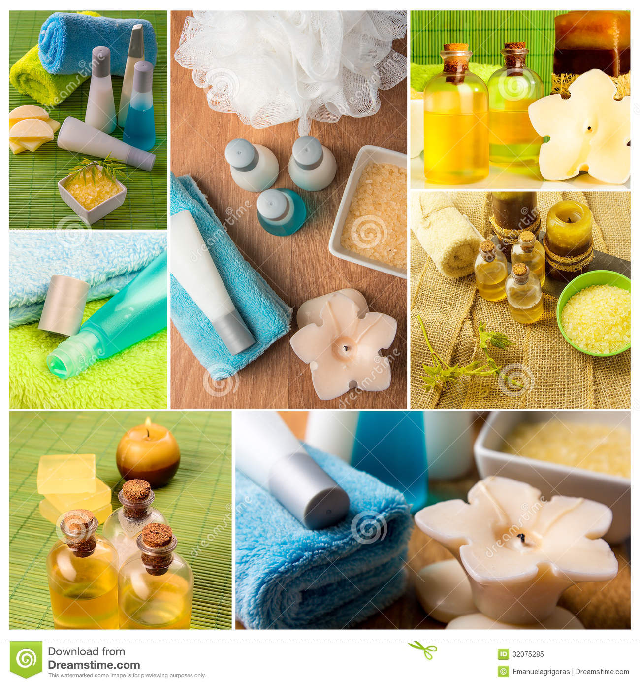 Spa collageserie