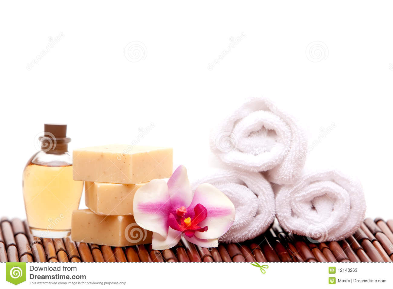 Spa decor stock photos image 12143263 - Decoratie spa ...