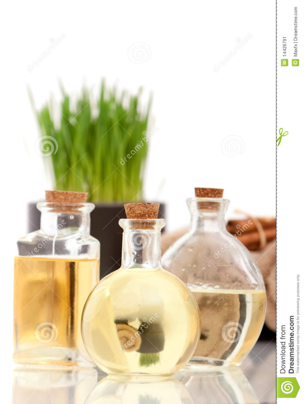Spa decor stock image image of decor cinnamon reflection 14426791 - Decoratie spa ...