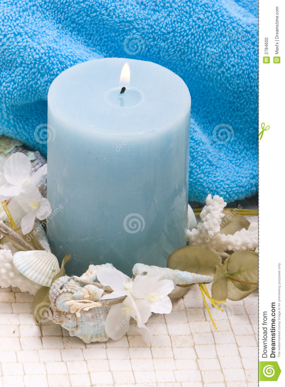 candle decor spa - Spa Decor