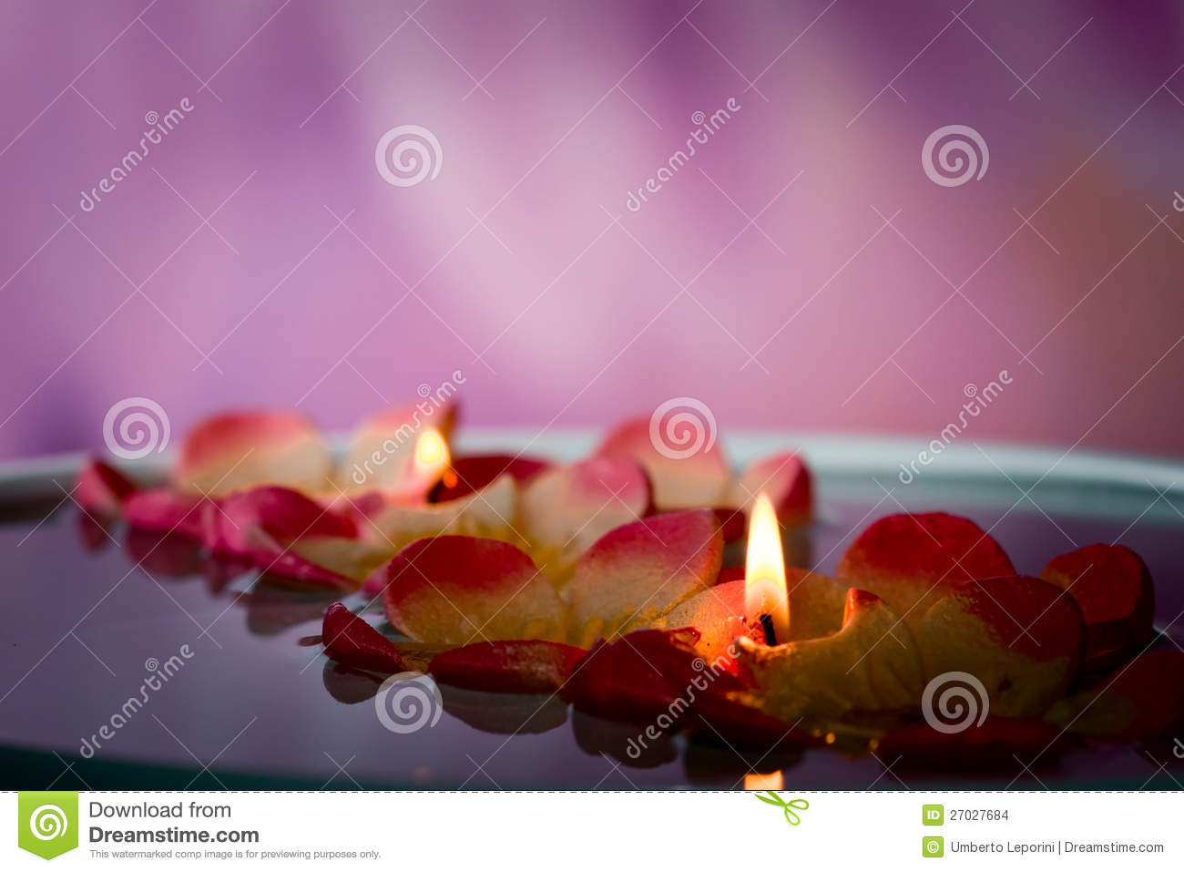 SPA floating candles