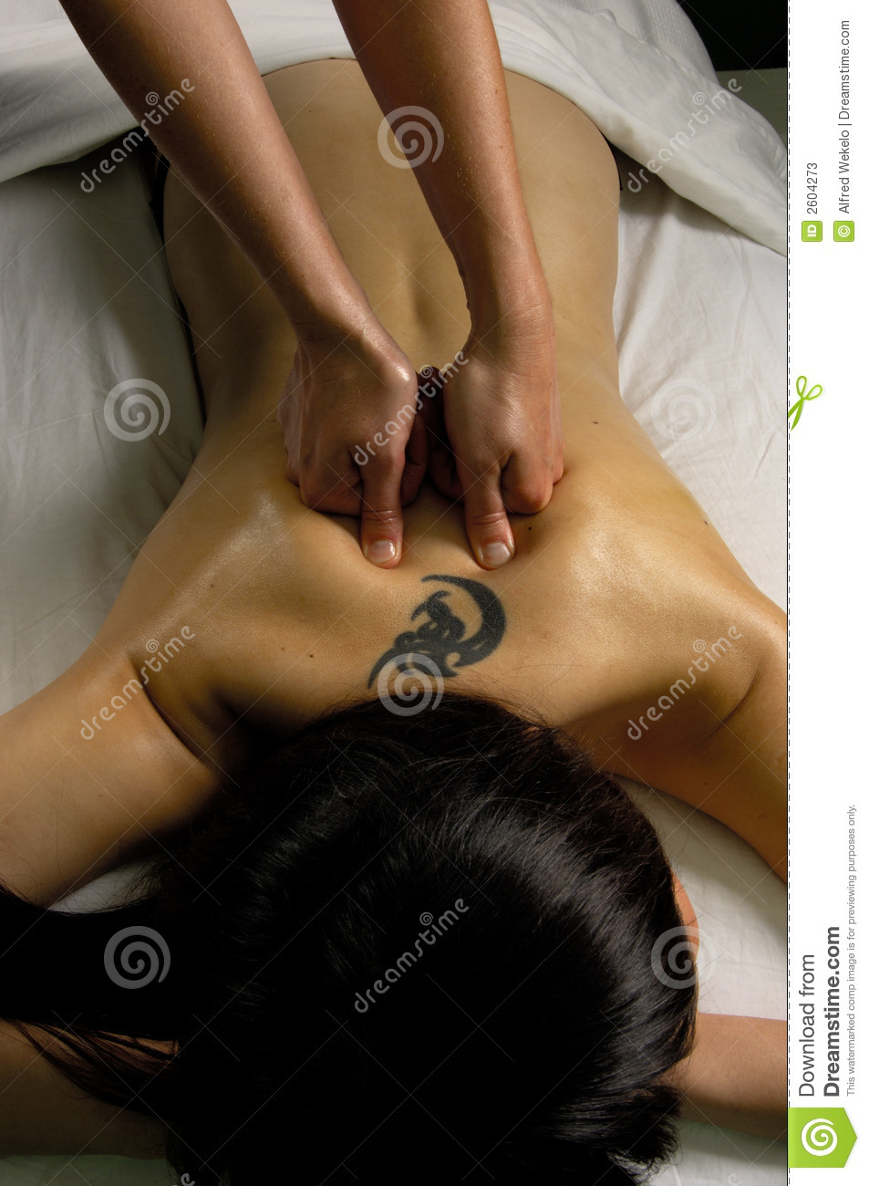 Spa full body massage stock photos image 2604273 - Salon massage body body paris ...