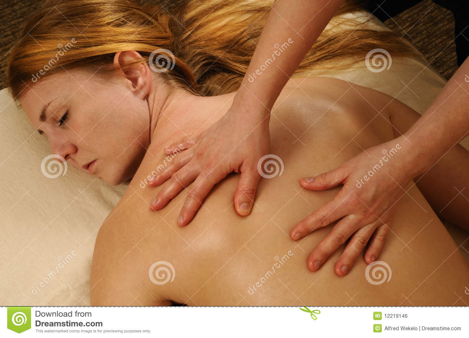 girls full body massage