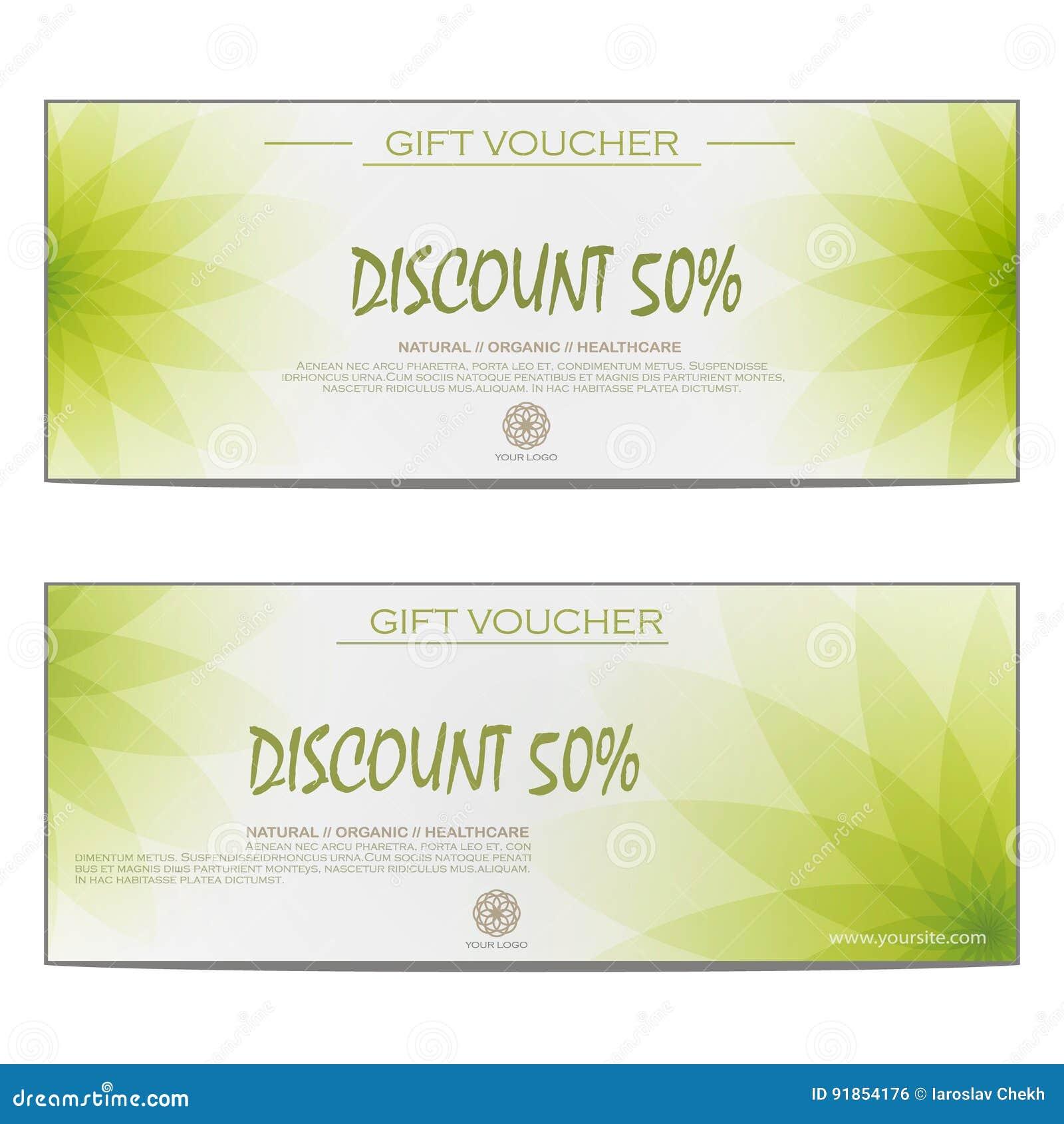 Spa Gift Voucher Stock Illustration Illustration Of Healthy 91854176