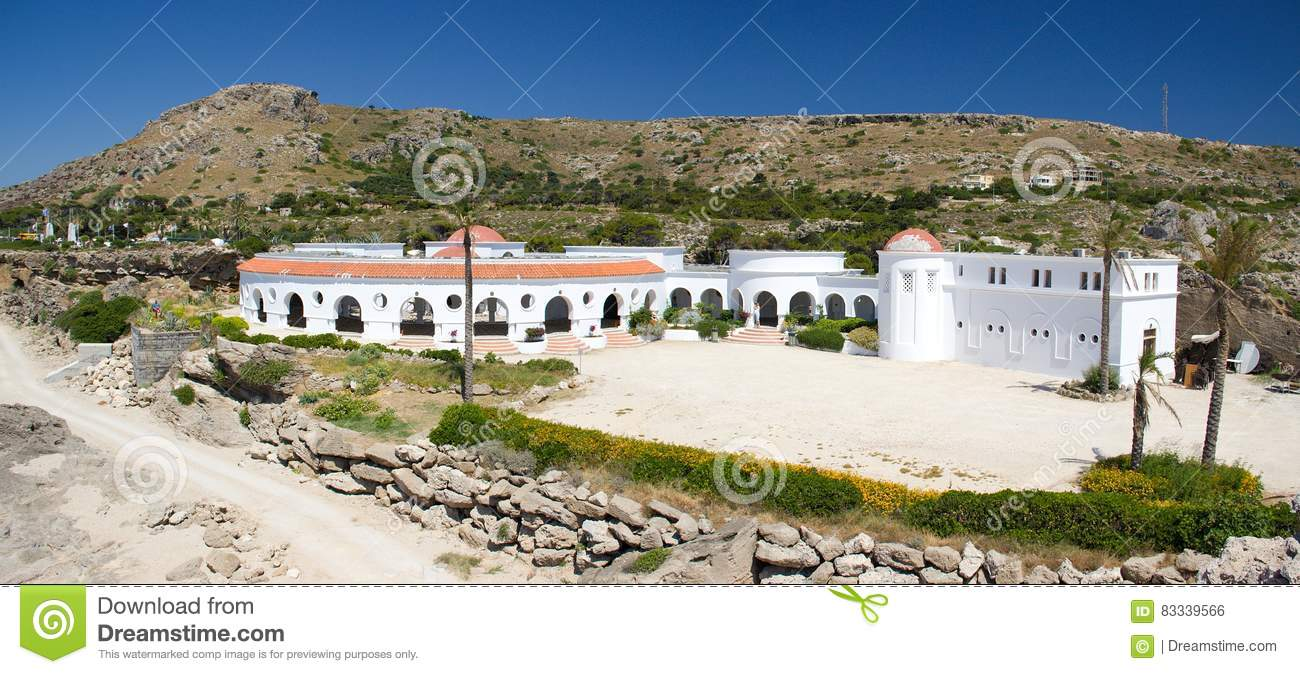 Spa Kalithea Rhodos Greece historic buildings architecture